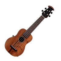 Photo OVATION UCS10P-KOAE UKULELE SOPRANO NATURAL KOA