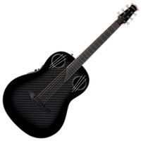 Photo OVATION ADAMAS 1198-GCF MID NON-CUTAWAY GLOSS CARBON FIBER