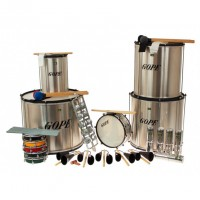 Photo GOPE GOP-PK-40HBK22 - PACK SAMBA SURDO 40CM HBK 22 INSTRUMENTS