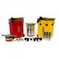 Photo GOPE GOP-PK-MAO14 - PACK SAMBA SURDO DE MAO 14 INSTRUMENTS