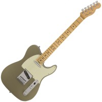 Photo FENDER AMERICAN ELITE TELECASTER CHAMPAGNE MN