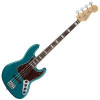 Photo FENDER AMERICAN ELITE JAZZ BASS OCEAN TURQUOISE EB