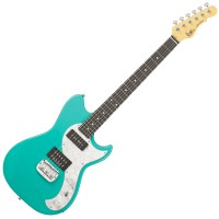 Photo G&L TRIBUTE FALLOUT MINT GREEN/PALISSANDRE