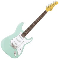 Photo G&L TRIBUTE LEGACY SURF GREEN/PALISSANDRE