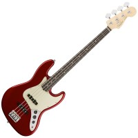 Photo FENDER AMERICAN PROFESSIONAL JAZZ BASS CANDY APPLE RED RW