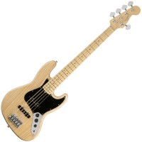Photo FENDER AMERICAN PROFESSIONAL JAZZ BASS V NATURAL MN