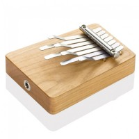 Photo HOKEMA MINI-KALIMBA 7 LAMES ELECTRO