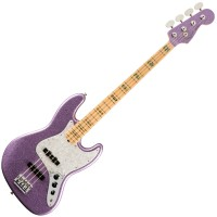 Photo FENDER ADAM CLAYTON JAZZ BASS PURPLE SPARKLE