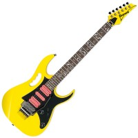 Photo IBANEZ JEMJRSP STEVE VAI SIGNATURE YELLOW
