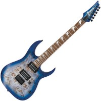 Photo IBANEZ RGRT621DPB-BLF - BLUE LAGOON BURST FLAT