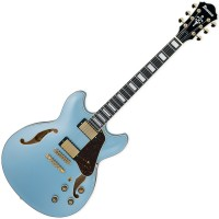 Photo IBANEZ AS83-STE - STEEL BLUE