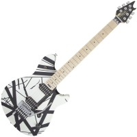 Photo EVH WOLFGANG SPECIAL MN BLACK/WHITE STRIPES
