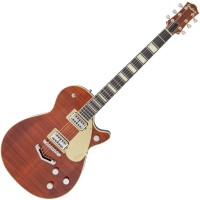 Photo GRETSCH GUITARS G6228FM JET BT BOURBON STAIN