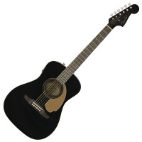 Photo FENDER MALIBU PLAYER JET BLACK
