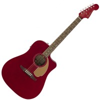 Photo FENDER REDONDO PLAYER CANDY APPLE RED