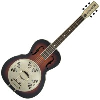 Photo GRETSCH GUITARS G9241 ALLIGATOR BISCUIT ROUND-NECK RESONATOR 2TS