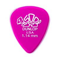 Photo DUNLOP 41P114 - DELRIN 500 GUITAR PICK 1,14MM X 12