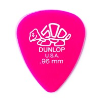 Photo DUNLOP 41P96 - DELRIN 500 GUITAR PICK 0,96MM X 12
