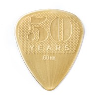 Photo DUNLOP 442P60 - 50TH ANNIVERSARY NYLON GUITAR PICK 0,60MM X 12