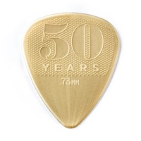 Photo DUNLOP 442P73 - 50TH ANNIVERSARY NYLON GUITAR PICK 0,73MM X 12