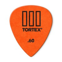 Photo DUNLOP 462P60 - TORTEX® TIII GUITAR PICK 0,60MM X 12