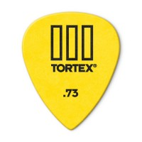 Photo DUNLOP 462P73 - TORTEX® TIII GUITAR PICK 0,73MM X 12