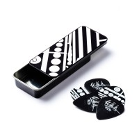 Photo DUNLOP PICK TIN - EVH CIRCLE GUITAR 0,60MM MAX-GRIP®