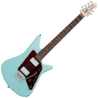 Photo STERLING BY MUSIC MAN ALBERT LEE AL40 DAPHNE BLUE