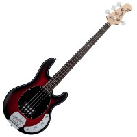 Photo STERLING BY MUSIC MAN STINGRAY RAY4 RUBY RED BURST SATIN