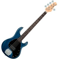 Photo STERLING BY MUSIC MAN STINGRAY RAY5 TRANS BLUE SATIN