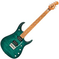 Photo MUSIC MAN JOHN PETRUCCI JP15 TEAL FLAME