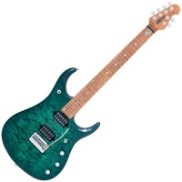 Photo MUSIC MAN JOHN PETRUCCI JP15 TEAL QUILT