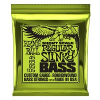 Photo ERNIE BALL BASS 2852 REGULAR SLINKY SHORT SCALE 45/105