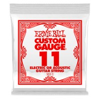 Photo ERNIE BALL DETAIL 1011 ELECTRIC/ACOUSTIC 011