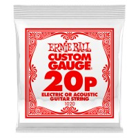 Photo ERNIE BALL DETAIL 1020 ELECTRIC/ACOUSTIC 020P
