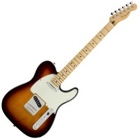 Photo FENDER PLAYER TELECASTER 3-COLOR SUNBURST MN