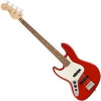 Photo FENDER PLAYER JAZZ BASS SONIC RED PF LH