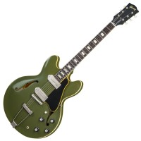 Photo GIBSON ES-330 VOS 2018 OLIVE DRAB GREEN