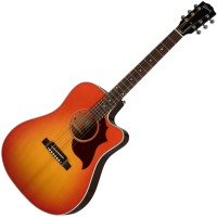 Photo GIBSON HUMMINGBIRD M MAHOGANY LIGHT CHERRY SUNBURST