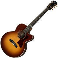 Photo GIBSON PARLOR M ROSEWOOD ROSEWOOD BURST