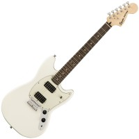Photo SQUIER FSR BULLET MUSTANG HH OLYMPIC WHITE