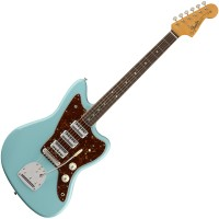 Photo FENDER 60TH ANNIVERSARY TRIPLE JAZZMASTER DAPHNE BLUE