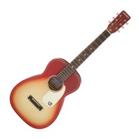 Photo GRETSCH GUITARS G9500 JIM DANDY FLAT TOP CHIEFTAIN RED BURST