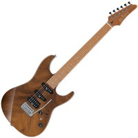 Photo IBANEZ TQM1-NT - TOM QUAYLE SIGNATURE - NATURAL