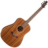 Photo SEAGULL S6 MAHOGANY DELUXE A/E + HOUSSE