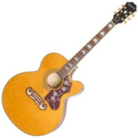Photo EPIPHONE EJ-200SCE VINTAGE NATURAL
