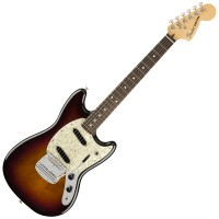 Photo FENDER AMERICAN PERFORMER MUSTANG 3-COLOR SUNBURST RW