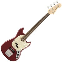 Photo FENDER AMERICAN PERFORMER MUSTANG BASS AUBERGINE RW