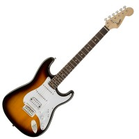 Photo SQUIER BULLET STRATOCASTER HSS BROWN SUNBURST