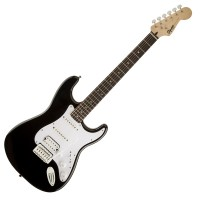 Photo SQUIER BULLET STRATOCASTER HSS BLACK